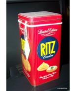 Vintage Limited Edition Ritz Cracker Tin 1986 LIMITED EDITION - $25.00