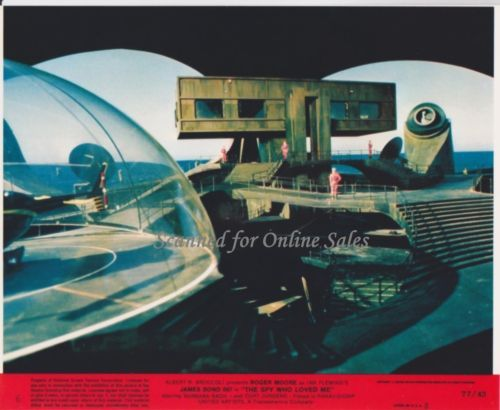 James Bond 007 Spy Who Loved Me 8x10 Lobby Card 6