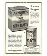 1942 Armour's Corn Flakes & Oats Recipe  print ad - $10.00