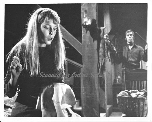 Johnny Belinda Mia Farrow David Carradine 7x9 Press Photo