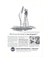1948 RCA Electron Tube Scintillation Counter print ad - $10.00
