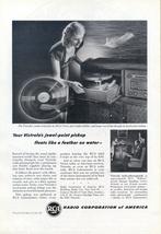 1948 RCA Victor Victrola Radio Phonograph print ad - $10.00
