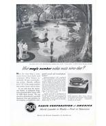 1951 RAC Victor 45-rpm Record Player print ad - $10.00
