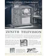 1949 Zenith Gotham Twin Cobra Record Changer TV ad - $10.00