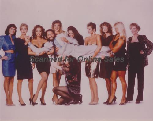 Man of the Year John Ritter and Girls 8x10 Photo