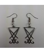 Sigil of Lucifer Earring Set - $14.00