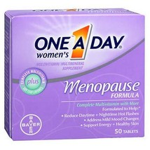 One A Day Women's Menopause Support Tabs, 50 ct Quantity of 2