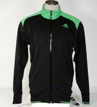 Adidas Formotion ClimaLite Barricade Black Stretch Tennis Jacket Mens NWT - $67.49