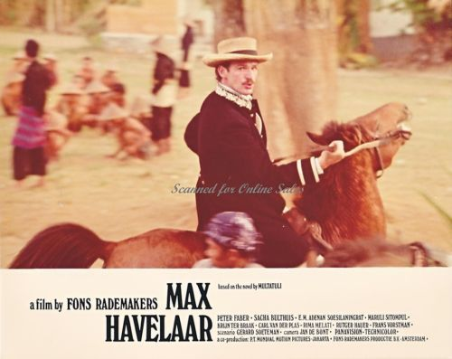 Max Havelaar Based on Multatuli Novel Peter Faber on Horseback 8x10 Photo