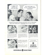 1948 GE General Electric Automatic Dishwasher print ad - $10.00