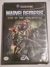 Nintendo GAMECUBE - MARVEL NEMESIS - RISE OF THE IMPERFECTS -Game&Case N... - $10.00