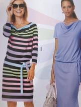Burda Sewing Pattern 6639 Misses Dress Size 10-20 New - $13.43