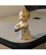 Porcelain Mini Mandolin Player Child Figurine - $19.99