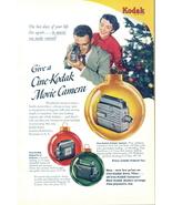 1948 Cine-Kodak Magazine 8 Reliant Camera Christmas ad - $10.00