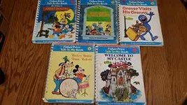 (5) Vintage Fisher Price Talk to Me Record Player Books 1970's - collect... - $36.42