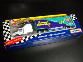 Matchbox 1995 Vermont Teddy Bear Racing Transporters Series White Rose LePage - $13.99
