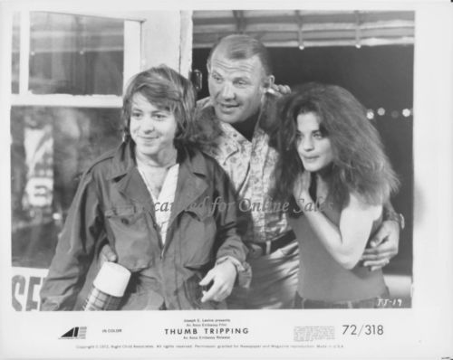 Thumb Tripping Michael Burns Michael Conrad Meg Foster 8x10 Photo