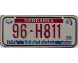 Nebraska bicentennial plate thumb155 crop