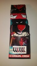 IT chapter two  mens casual crew socks fits shoe size 8 12 new 6 pairs c... - $23.95
