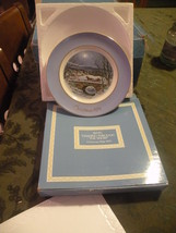 Avon 1979 Vintage & Retired Collector's Plate Series Dashing Through The Snow - $10.00
