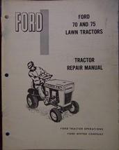 Ford 70, 75 Lawn Tractors Service/Repair Manual - 1968 - $15.00