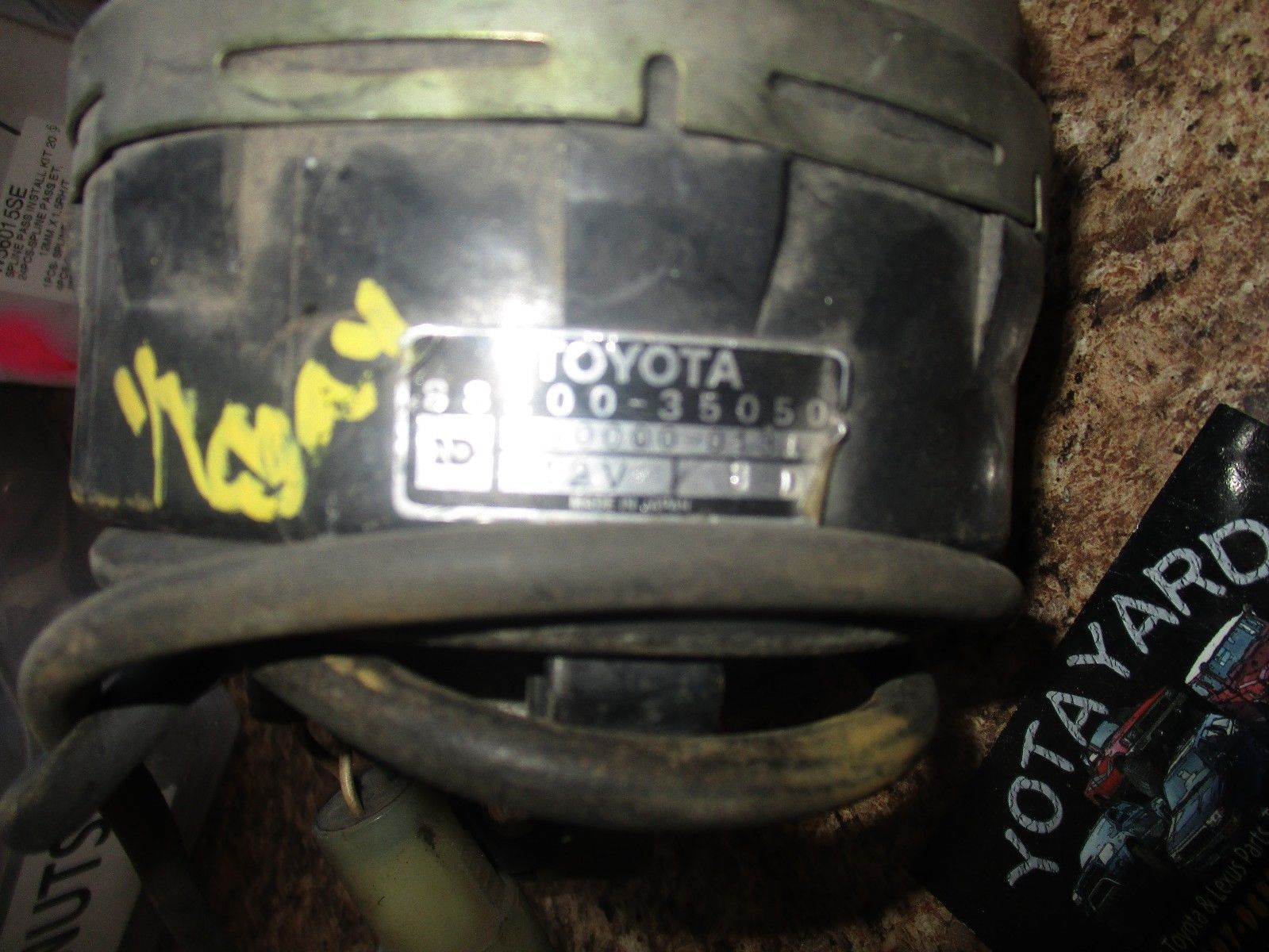 Toyota 88212-35080 Cruise Control Actuator Cover