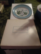 New Avon 1974 Vintage & Retired Collector's Plate Series Country Church Edition - $10.00