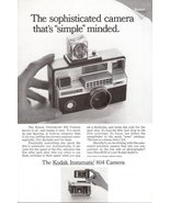 1967 Kodak Instamatic 804 Camera magazine print ad - $10.00