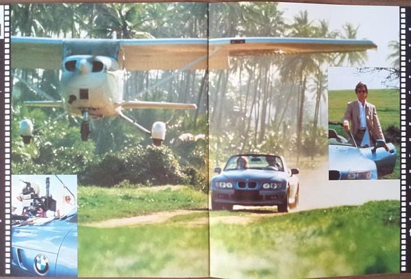 1996 BMW Z3 roadster brochure catalog US 96 007 GOLDENEYE