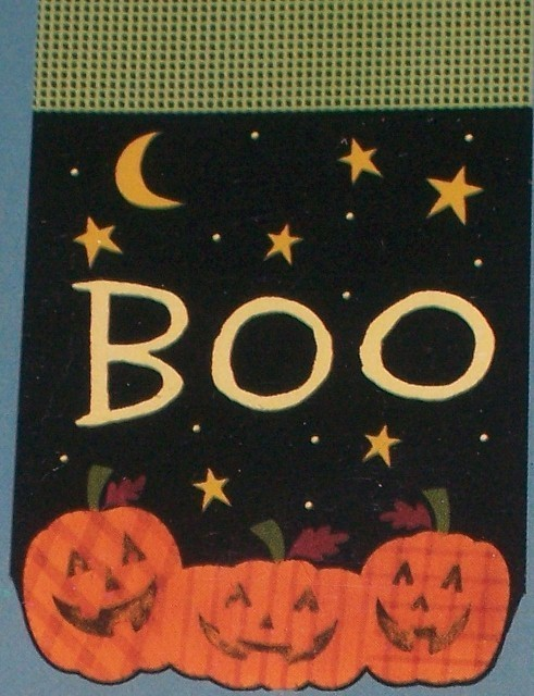 Boo pumpkins flag best  491x640