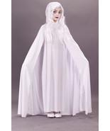 Girls Plus Size Glimmer Ghost Costume 10.5-12.5 NEW Spooky Spirit Girls Costume  - $14.00