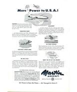 1948 Martin Aircraft Air Power to USA print ad - $10.00