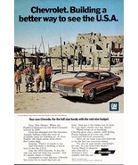 1972 GM Chevrolet Chevelle Malibu Sport Coupe print ad - $10.00