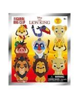Disney Lion King 3D Foam Collectible Bag Clip in Blind Bag Surprise Myst... - $9.99