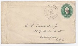 1893 Hebbardsville OH Defunct/Discontinued Post Office (DPO) Cover  - $9.95