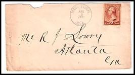 1887 McIntosh, GA Defunct/Discontinued Post Office (DPO) Cover  - $9.95