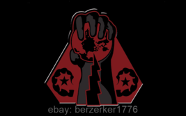 Command & Conquer Brotherhood of Nod Black Hand 3x5 horizontal Flag USA seller  - $25.00