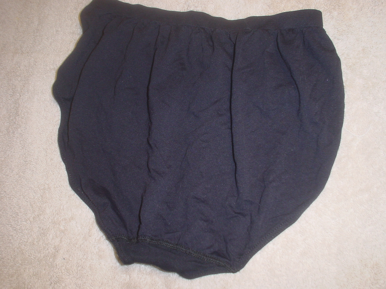 Jockey Seamfree Panty 7/Large Black SP-Slightly Imperfect NWOT