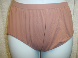 Jockey Seamfree Panty 7/Large Dark Brown SP-Slightly Imperfect Lot of 2 ... - $13.99