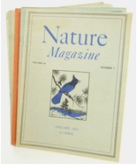 Nature Magazine 1953 lot 7 back issues wildlife children home schooling ... - $36.00