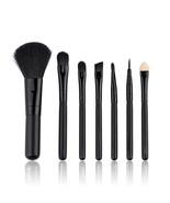 BBL® 7pcs/set MINI Black Makeup Set Eyeshadow Brushes Blush Blending For... - $6.11