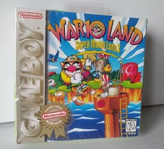 VINTAGE Super Mario Land 3 WARIO LAND Nintendo GAME BOY Video Game NEW/S... - $149.95