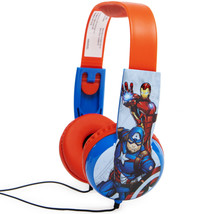 Marvel Avengers Kid Safe Headphones With Volume Limiting Technology
