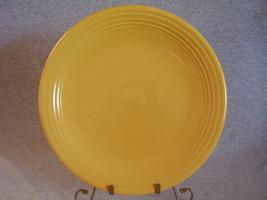 Vintage Fiestaware Yellow 13 Inch Chop Plate - $36.00