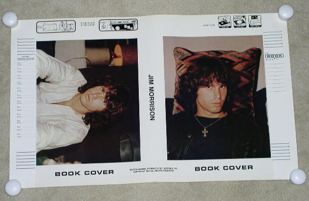 JIM MORRISON THE DOORS BOOK COVER VINTAGE 1981