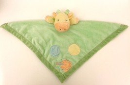 """Just One Year Carter's Giraffe I Love Mommy Security Blanket Rattle 17"""" - $17.81"""