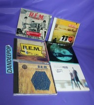 6 R.E.M. Music CDs Around The Sun Best Of In Time Reveal Out Of Time Eponymous - $54.44