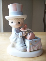 "1999 Precious Moments ""Let Freedom Ring"" Early Edition Figurine  - $28.00"