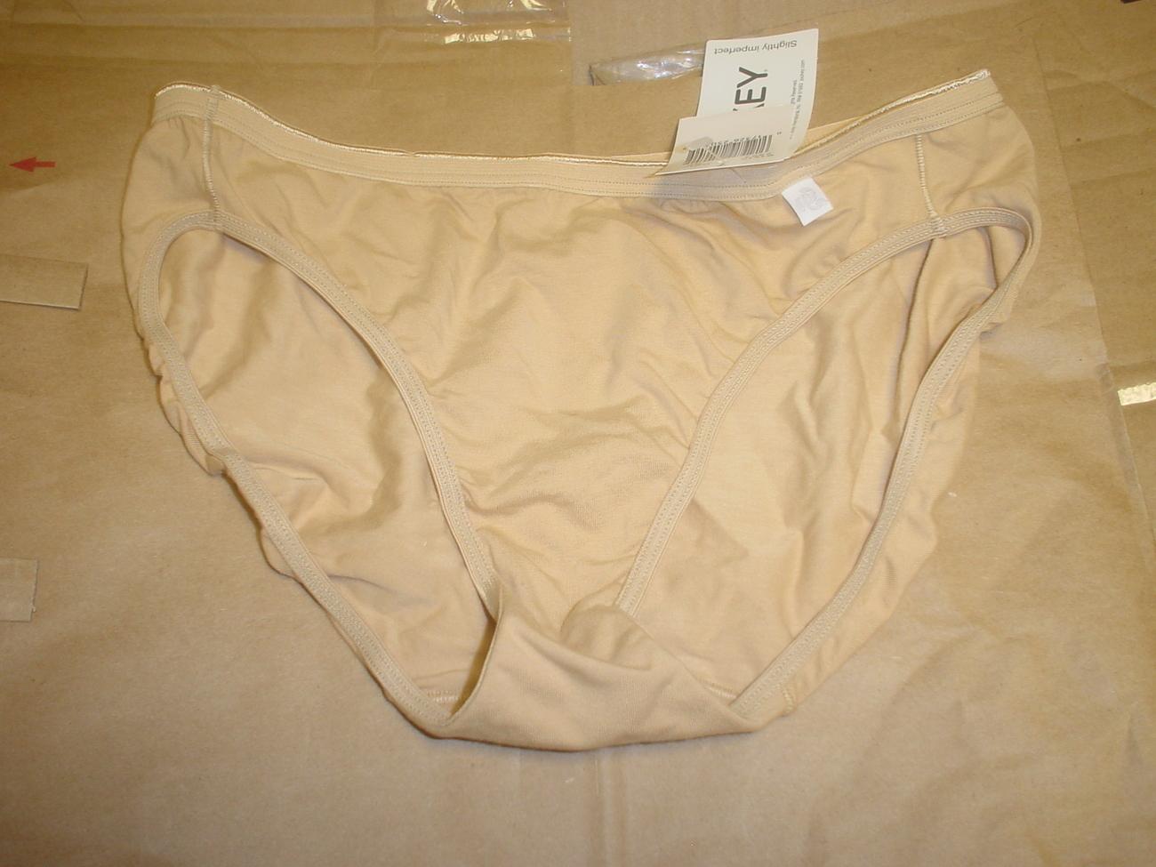 Jockey Panty 6/Medium or 7/Large Buff SP-Slightly Imperfect Lot of 2 NWOT