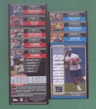 2005 Bowman New York Giants Football Team Set  - $3.00